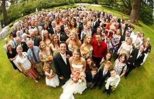Как встречать гостей на свадьбе?