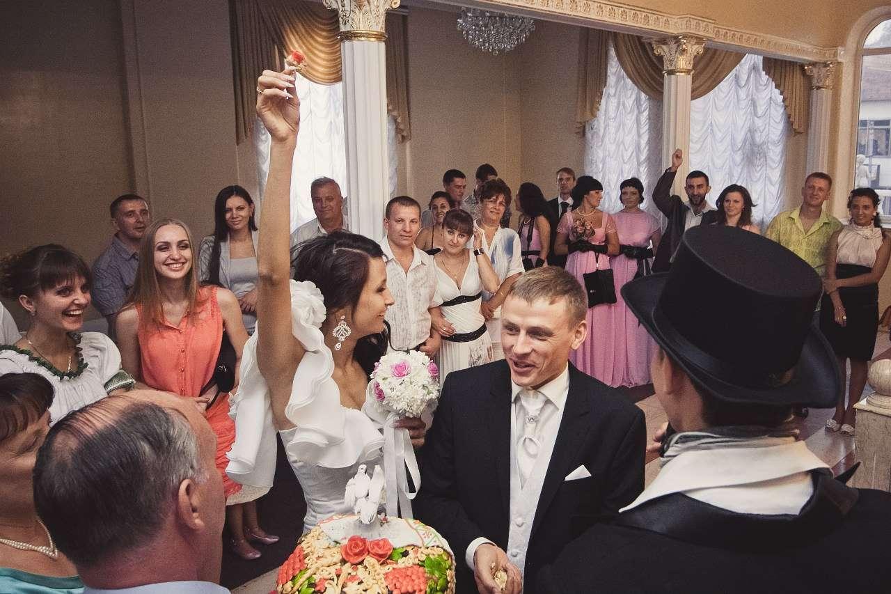 Сценарий для розовой свадьбы с конкурсами и поздравления 268